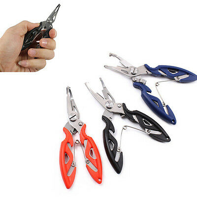 Remover Fishing Hook Scissors Line Cutter HOT Tool Braid Pliers Stainless Steel