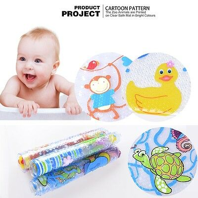 Baby Kids Shower Bathroom Bath Mat Duck/Monkey/Undersea world design Non slip