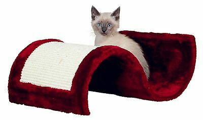 New Trixie Wavy Cat Scratching Wave - Bordeaux - Plush & Sisal