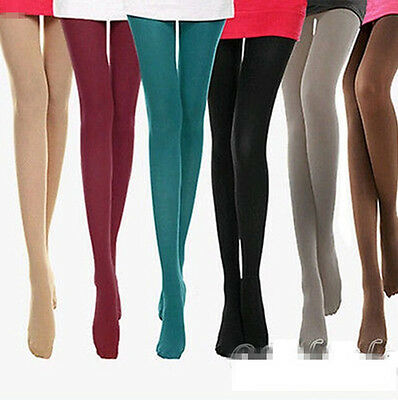New 8Colors Women's Spring Autumn Footed Thick Opaque Stockings Pantyhose Tights