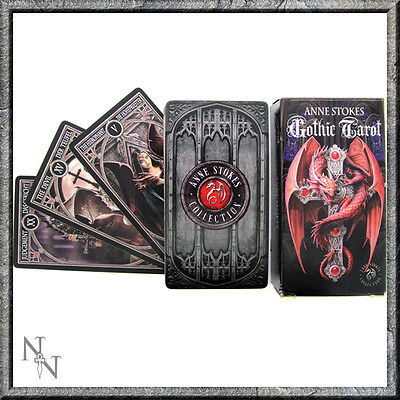 Anne Stokes Gothic Tarot Tarrot Cards Dragons Mythical Nemesis Now Brand New