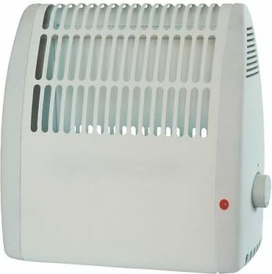 Frost Watcher Compact Convector Heater Wall Mounted for Greenhouse Caravan Shed