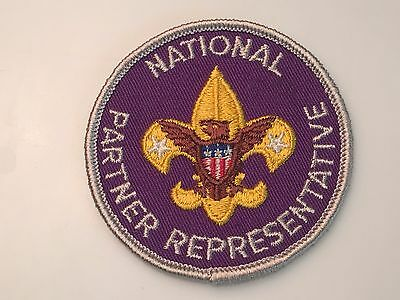 National Partner Representative Adult Position Patch