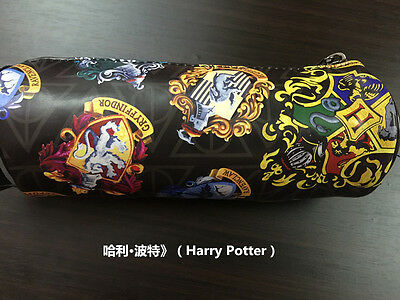 Harry Potter Hogwarts School Pencil Pen Case Cosmetic Make Up Bag Storage Pouch