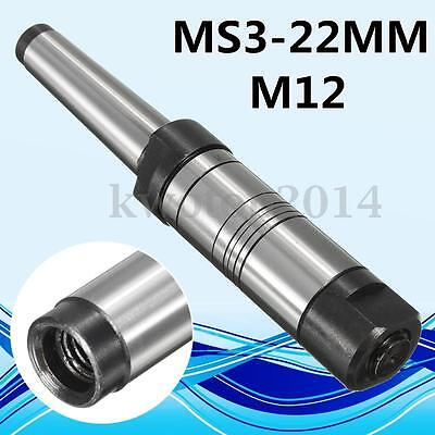 22mm Morse Taper MT3 MS3 Shank Milling Arbor Gear Cutter Holder For 13mm Bore
