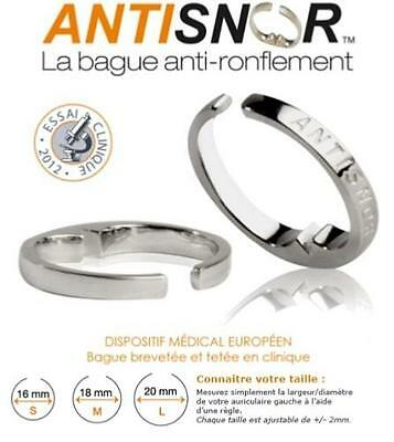 Antisnor Bague anti-ronflement Antisnor, taille L (grand)