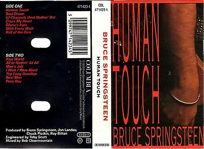 BRUCE SPRINGSTEEN Human Touch MC Tape MUSIKKASSETTE1992 Columbia Made in HOLLAND