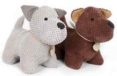 Adorable Fabric Door Stopper Dog Assorted Color Home Decoration Soft & Heavy New