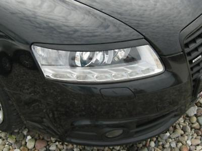 AUDI A6 C6 2004-2011  eyebrows headlights spoiler , genuine ABS plastic NEW