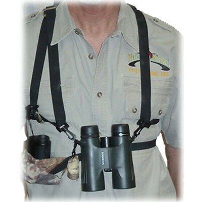 Crooked Horn Bino-System w/Rangefinder Holster Camo