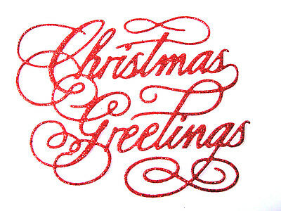 DS 8 Season/'s Greetings Word Sentiment Christmas Die Cuts Any Colour//Card