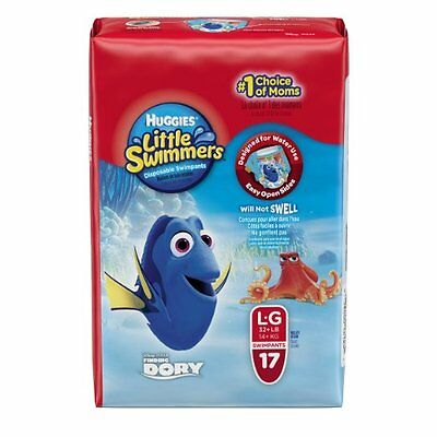 Huggies Little Swimmers Disposable Swimpants, Large, 17 Count     *NEW*