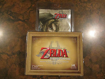 The Legend of Zelda Twilight Princess Master Sword and Hylian Shield (NIP)