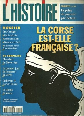 history Collections - CORSICA EST-ELLE FRENCH ? - No.244