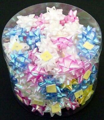 Traditional Gift Wrapping Mini Bows Self Stick All Occasions 100 Pcs  (EBOW1A)