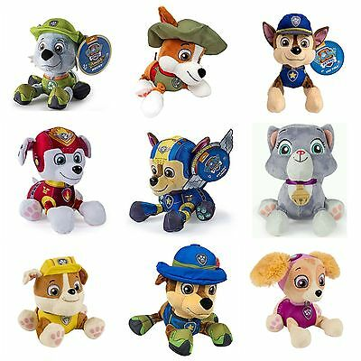 "Nickelodeon Paw Patrol 8"" Plush Pup Pals 33 Varieties--U Choose! US Seller"