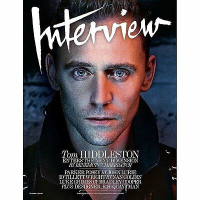 Interview Magazine October 2016 Tom Hiddleston by Benedict Cumberbatch Pusha T