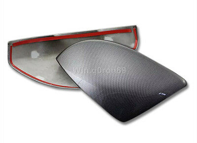 For Range Rover Evoque 2014 - 2016 Carbon fiber Style Rearview Mirror Cover Trim