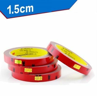 DZ588* Strong Permanent 3M Double-sided Sticky Tape Roll CAR Adhesive 15mm X 3M