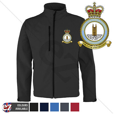 RAF Waddington - Softshell Jacket - Personalised text available