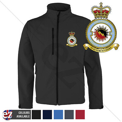 RAF Squadron 4 - Softshell Jacket - Personalised text available