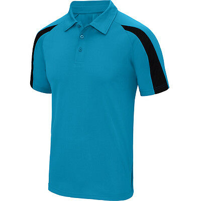 Designa Just Cool Darts Shirt - Sapphire with Black - Breathable- Small to 2XL
