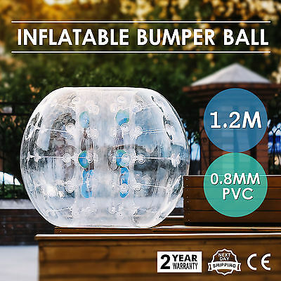 1.2M Inflatable Bubble Bumper Zorb Ball TPU Football Outdoor Adult Child HOT