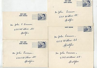 5 Old 1950's Canada Postcards I.O.O.F Halifax Encampment