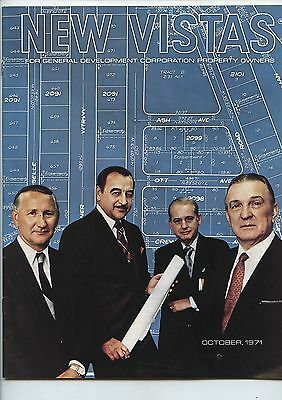 Old Oct 1971 Magazine New Vistas General Development Property Owners