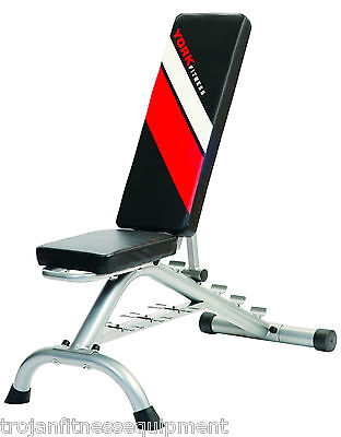 Exercise Bench FID With Dumbbell Rack Flat Incline Decline YRK45085