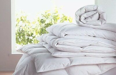 **LUXURIOUS** Double All Seasons Goose Feather & Down 2 in 1 Duvet 4.5+9.0TOG