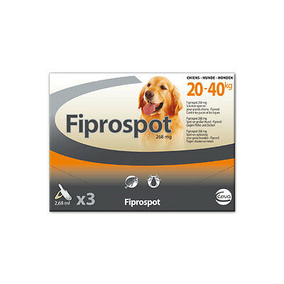 Fiprospot Spot-On Grand Chien (20-40 kg) - 3 pipettes
