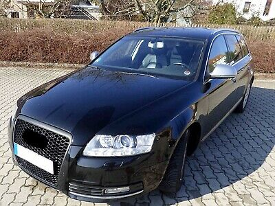 Audi A6 4F Facelift Badgeless Mesh Grill Debadged Sport Front Grill + Simple Fix