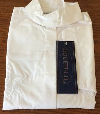 Equetech Ladies Embroidered Competition Shirt Size 12