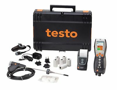 Testo 330-1G LL Kit #2 Combustion Analyzer with Probes & Printer (0563 3371 75)