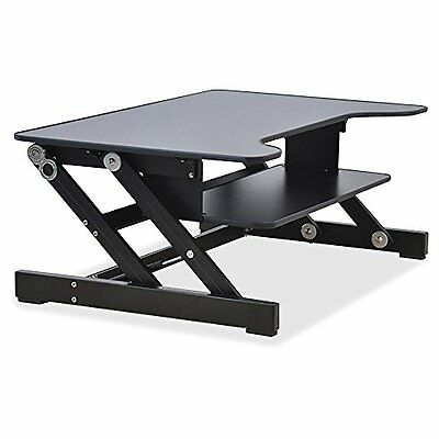 Lorell Sit-to-Stand Monitor Riser Platform for Standing Desk (LLR81974) - NEW