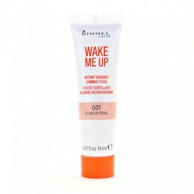 Wake Me Up Rimmel London Instant Radiance Shimmer Touch 001 Flush Of Pearl