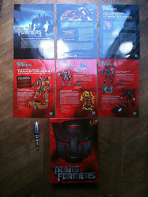 Ultra Collector - Kit Press Officiel Transformers (Film) - Hasbro 2007