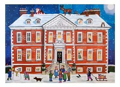 Alison Gardiner Country House Christmas Large Traditional Advent Calendar