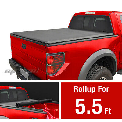Premium Roll & Lock Tonneau Tonno Cover For 2015-2017 Ford F-150 Short 5.5' Bed