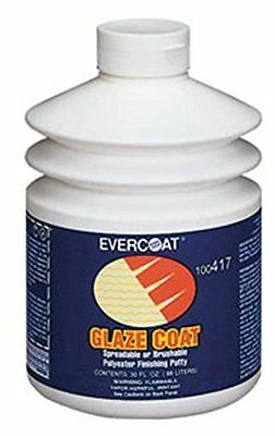 Evercoat  Fib-417 Glaze Coat Polyester Finishing & Blending Putty (30 oz Pump)