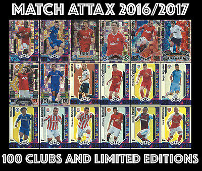 Match Attax 2016/17 2016 2017 16/17 Hundred 100 Club 100 Club Legends