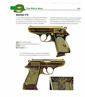 Walther Ppk Auto Pistol With  Brief History/specifications 2012