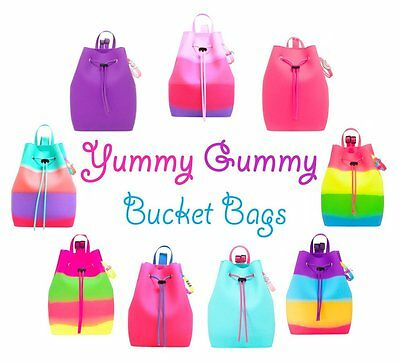YUMMY GUMMY SCENTED Bucket Bag Backpacks with YUMMY GUMMY Bracelet & Jewel FREE!