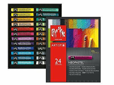 Caran D'ache Neopastel Oil Pastels Set Of 24