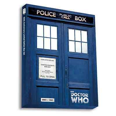Doctor Who - 50th Anniversary Lim Ed BOX SET Exclusive Prints NEW