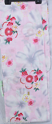 浴衣 Yukata japonais - Sakura variation rose - Import direct Japon !
