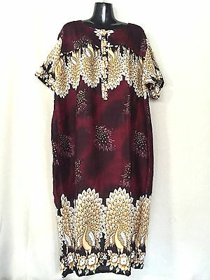 lot of 6 Mature design.Ladies dress.Suit large size too.Colours. Rayon. New.