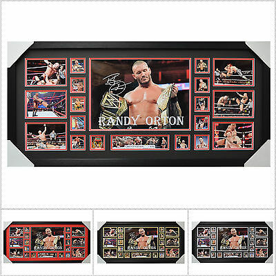 Randy Orton Signed Framed Limited Edition Large Size  - Multiple Variations