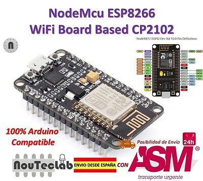 NodeMcu Lua WiFi Internet of Things development Board based ESP8266 CP2102
